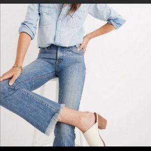 Madewell Cali Demi-Boot Jean